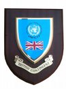 British Contingent Regiment Military Wall Plaque